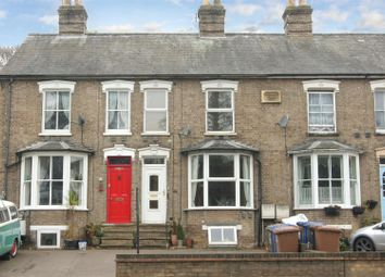 Thumbnail 3 bed terraced house for sale in Fornham Road, Bury St. Edmunds