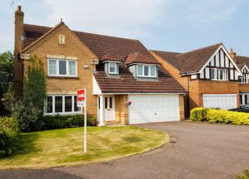 Thumbnail 4 bedroom detached house for sale in Embleton Way, Buckingham