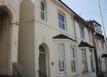 Thumbnail 1 bed flat to rent in Dover Road, Folkestone
