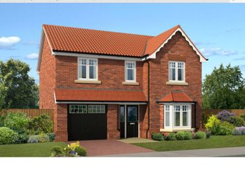 Thumbnail 4 bed detached house for sale in Old Hall Drive, Retford