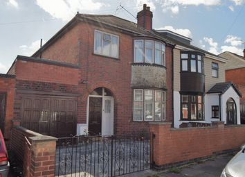 Thumbnail 3 bedroom semi-detached house for sale in Rowsley Avenue, Evington, Leicester