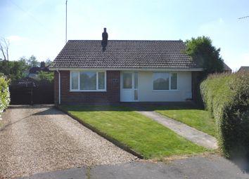 Thumbnail 2 bed detached bungalow for sale in Elmfield Drive, Elm, Wisbech