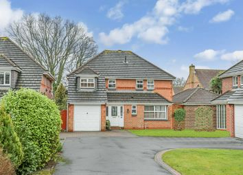 Thumbnail 4 bed detached house for sale in York Close, Horton Heath, Eastleigh