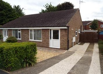 Thumbnail 2 bed bungalow to rent in Fossdale Close, Knaresborough