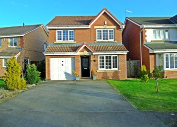 Thumbnail 4 bed detached house for sale in Abbeydale Gardens, South Hetton, Durham