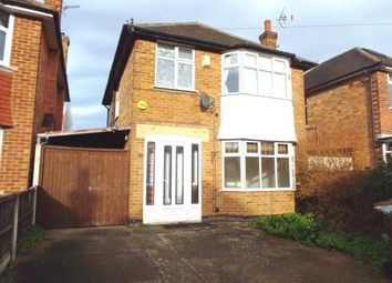 Thumbnail 3 bed detached house for sale in Heckington Drive, Wollaton, Nottingham, Nottinghamshire