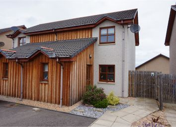 Thumbnail 2 bed semi-detached house for sale in Corries Way, Forres