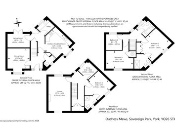 Thumbnail 4 bed detached house for sale in Duchess Mews, Sovereign Park, York
