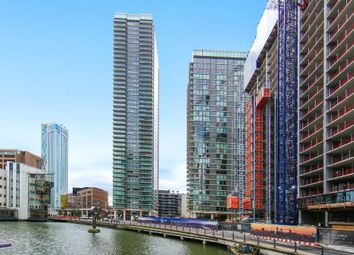 Thumbnail Studio for sale in Landmark Tower, Marsh Wall, Canary Wharf, London