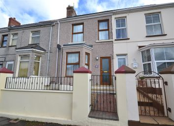 Thumbnail 3 bedroom terraced house for sale in Cromwell Road, Milford Haven