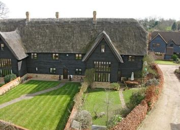 Thumbnail 4 bed barn conversion for sale in Thatchers Close, St. Neots