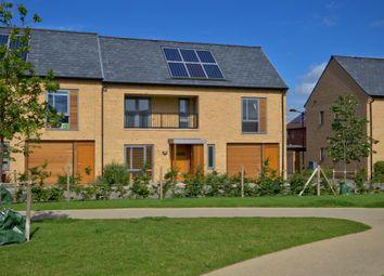 Thumbnail 3 bedroom semi-detached house for sale in Kestral Rise, Trumpington, Cambridge