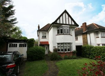 Thumbnail 3 bed detached house to rent in Meadway, Southgate