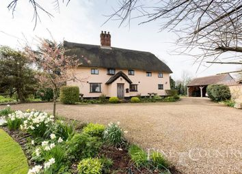 Thumbnail 4 bed cottage for sale in High Road, Bressingham, Diss