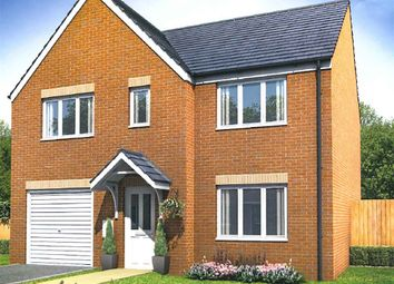 "Thumbnail 4 bed detached house for sale in ""The Winster"" at Front Street, Fleming Field, Shotton Colliery, Durham"