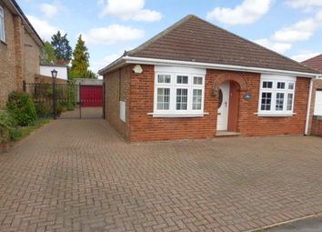Thumbnail 2 bedroom detached bungalow for sale in Upwell Road, March
