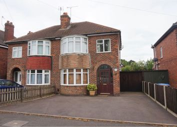 Thumbnail 3 bed semi-detached house for sale in Harpur Avenue, Littleover