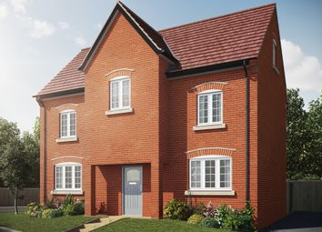 "Thumbnail 4 bed detached house for sale in ""The Wallington"" at Isemill Road, Burton Latimer, Kettering"