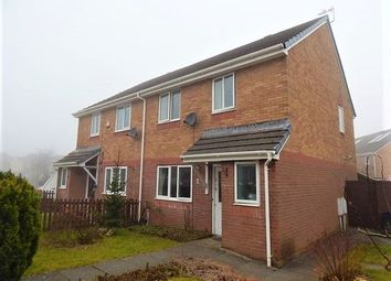 Thumbnail 3 bed semi-detached house for sale in Hafod View Close, Brynmawr