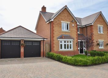 Thumbnail 4 bed detached house for sale in Grange Farm Drive, Honeybourne, Evesham