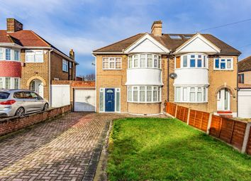 Thumbnail 3 bed flat to rent in Crathie Road, London