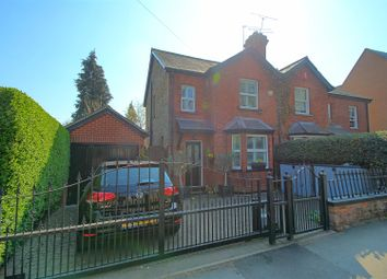 Thumbnail 2 bed semi-detached house for sale in Hoddesdon Road, Stanstead Abbotts, Ware