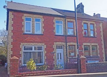 Thumbnail 3 bed semi-detached house for sale in Commercial Street, Ystrad Mynach