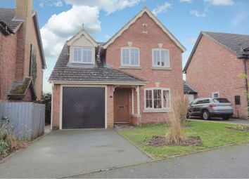 Thumbnail 3 bed detached house for sale in Eleanor Harris Road, Baschurch, Shrewsbury