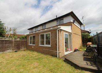 Thumbnail 2 bedroom semi-detached house for sale in Cornbury Crescent, Downhead Park