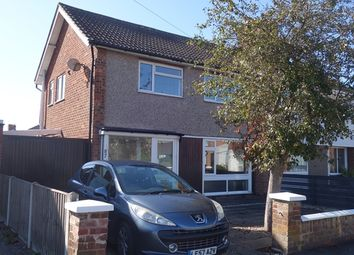 Thumbnail 3 bed semi-detached house to rent in Kent Crescent, Wigston