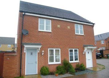 Thumbnail 2 bedroom semi-detached house for sale in Neptune Close, Peterborough, Cambridgeshire