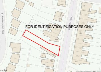 Thumbnail Land for sale in Land Adj 138 Church Road, Stockingford, Nuneaton, Warwickshire