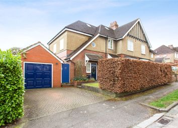 Thumbnail 4 bed semi-detached house for sale in St James Road, Harpenden, Hertfordshire