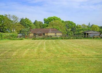 Thumbnail 4 bed detached bungalow for sale in Tiptoe, Lymington, Hampshire