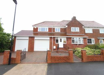Thumbnail 5 bedroom semi-detached house for sale in Bevan Avenue, Ryhope, Sunderland