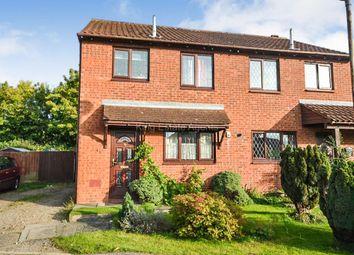 Thumbnail 3 bedroom semi-detached house for sale in Simonsbath, Furzton, Milton Keynes, Buckinghamshire