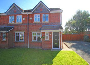 Thumbnail 3 bed semi-detached house for sale in Derwent Court, Darwen