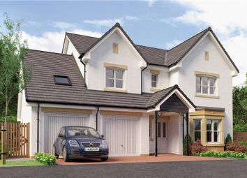 "Thumbnail 4 bed detached house for sale in ""Humber"" at Broomhouse Crescent, Uddingston, Glasgow"