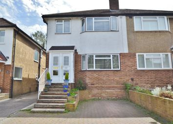 Thumbnail 3 bed semi-detached house for sale in Oakmere Avenue, Potters Bar