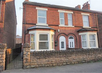 Thumbnail 4 bed semi-detached house for sale in Chandos Street, Nottingham