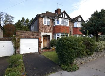 Thumbnail 3 bed semi-detached house for sale in Waddington Way, Crystal Palace, London