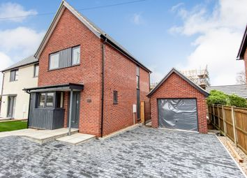 Thumbnail 3 bed semi-detached house for sale in Fakenham Road, Lenwade, Norwich
