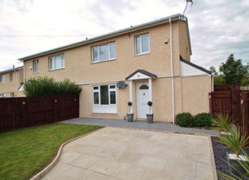 Thumbnail 3 bed semi-detached house for sale in 84 Barrington Crescent, Middlesbrough, Cleveland