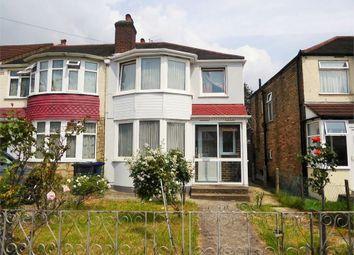 Thumbnail 3 bed end terrace house to rent in Conway Crescent, Perivale, Greenford, Greater London