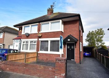 Thumbnail 3 bed semi-detached house for sale in Salmesbury Avenue, Blackpool