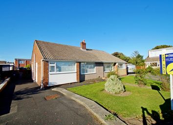 Thumbnail 2 bed semi-detached bungalow for sale in Lincolnshire Close, Belmont, Durham
