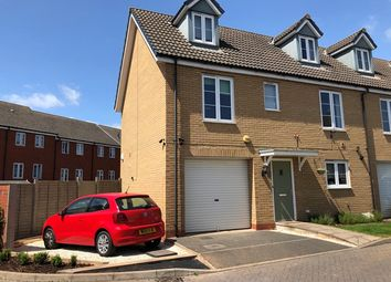 Thumbnail 4 bed end terrace house to rent in Jack Sadler Way, Exeter