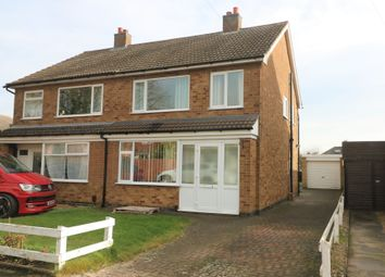 Thumbnail 3 bed semi-detached house to rent in Newbury Avenue, Melton Mowbray