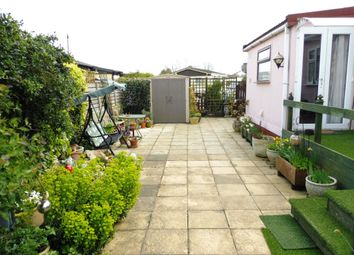 Thumbnail 2 bed mobile/park home for sale in Wixfield Park, Great Bricett, Ipswich
