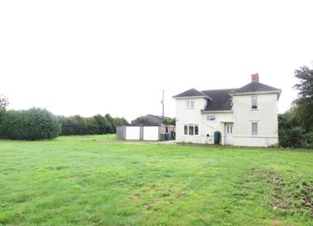 Thumbnail 3 bed detached house for sale in Straight Drove, Farcet, Peterborough